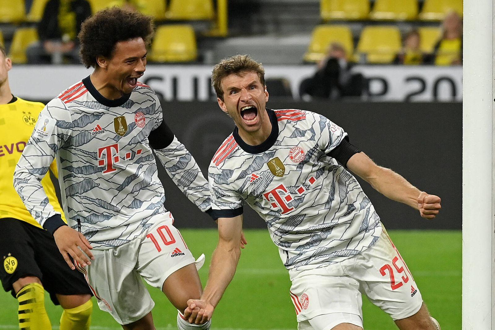 Dortmund, Signal Iduna Park, 17.08.21, GER, Herren, Supercup, Saison 2021-2022, Borussia Dortmund - FC Bayern Muenchen