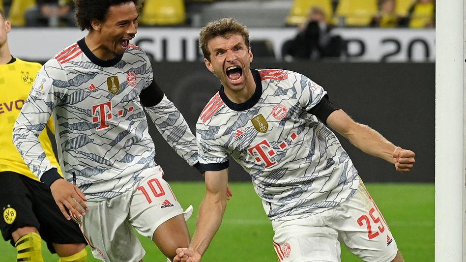 Thomas Müller erzielte das 2:0