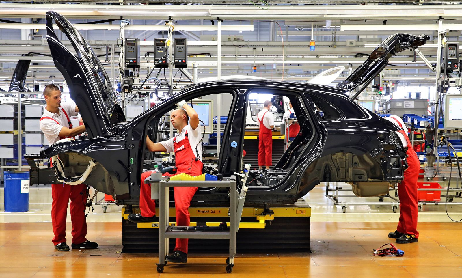 Deutschland / Konjunktur / Wirtschaft / Porsche-Werk Leipzig