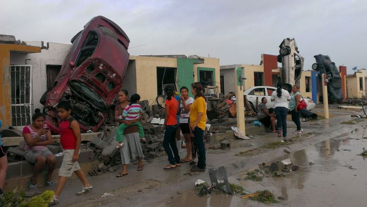 Tornado in Mexiko: Zerstörung in Ciudad Acuña