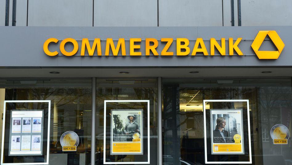 Commerzbank-Filiale in Berlin: Privatkunden sollen verschont bleiben