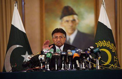 Pakistans Präsident Pervez Musharraf: