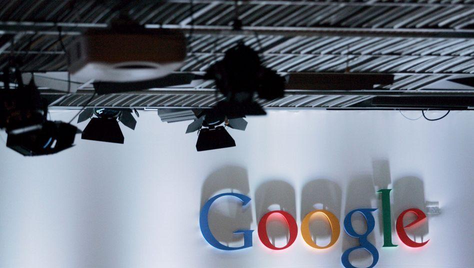 Google-Logo in der US-Zentrale: Große Datenbestände besser auswerten