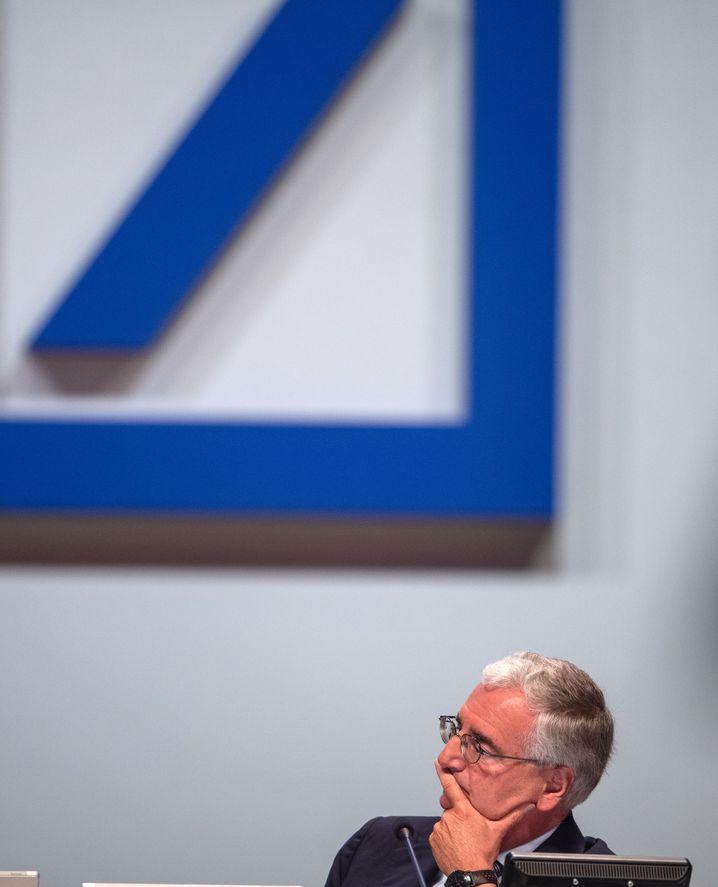 Aufsichtsratschef Achleitner: Die Rede war kaum länger als der Wetterbericht