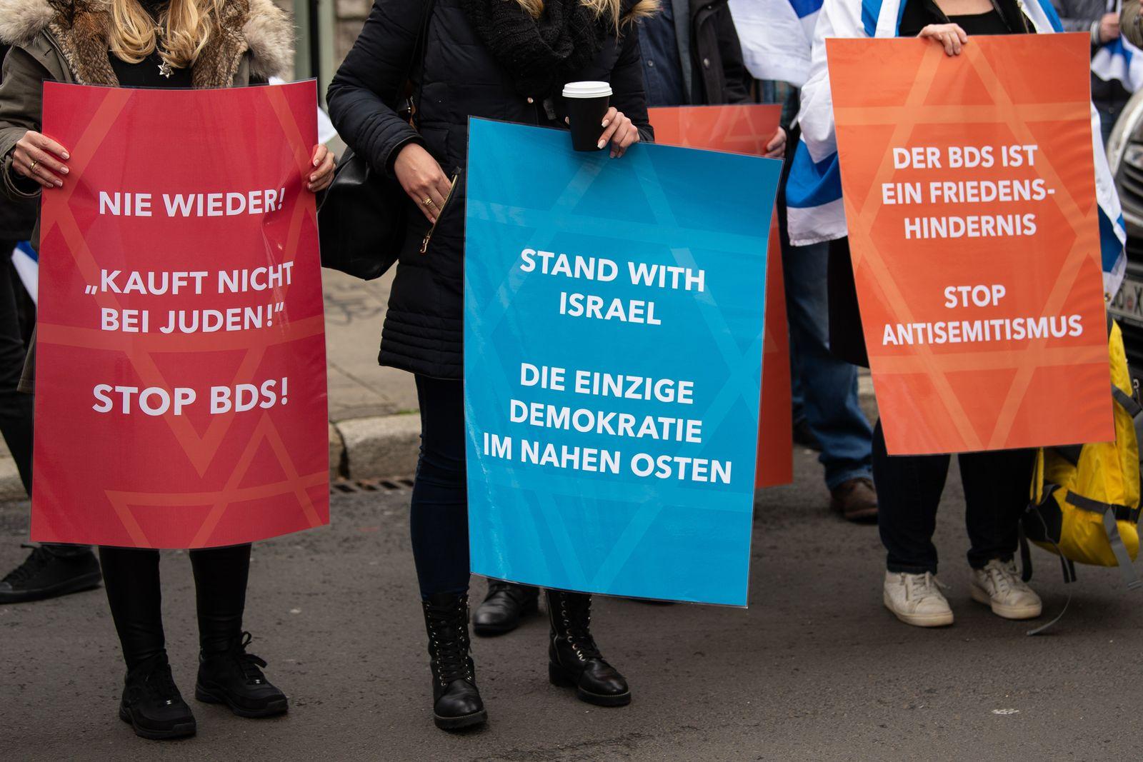 Bündnis gegen Antisemitismus und Antizionismus Jachad/ BDS/ Kein Frieden mit den Feinden Israels