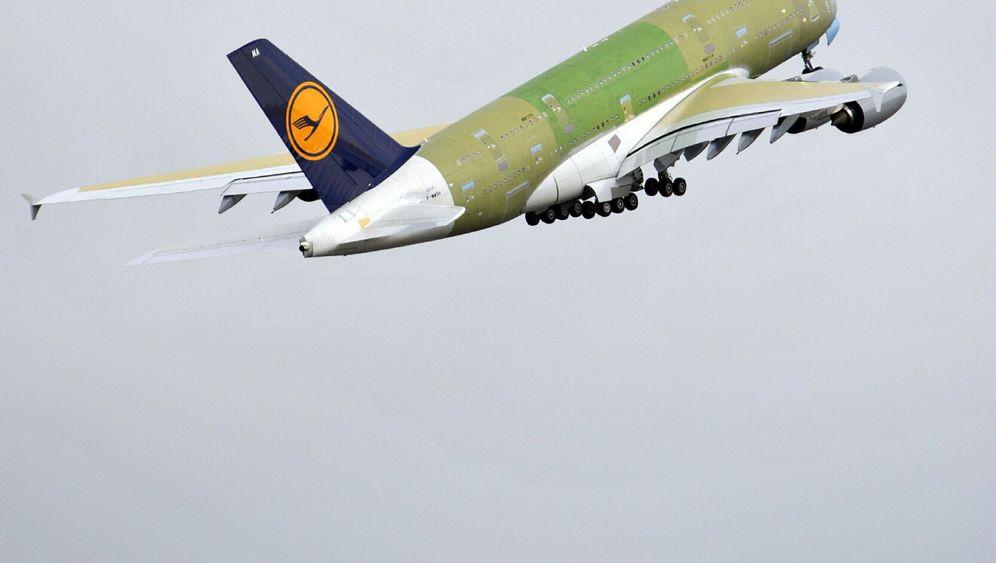 Jungfernflug: Lufthansas erster A380