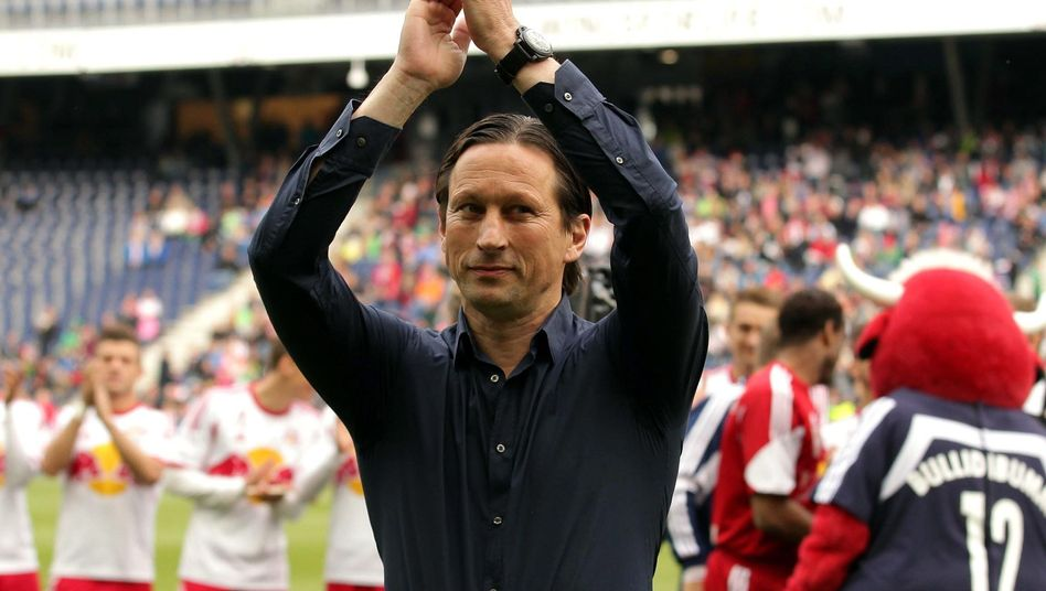 Salzburg-Trainer Schmidt: Abschied mit dem Double