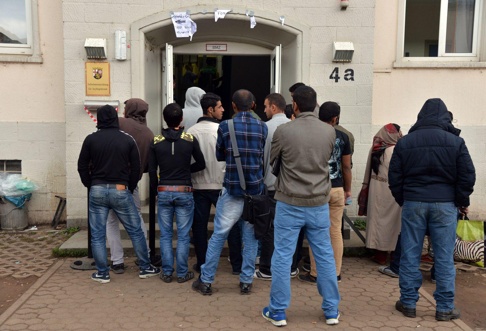Erstaufnahmeeinrichtung für Asylsuchende in Trier Flüchtlinge