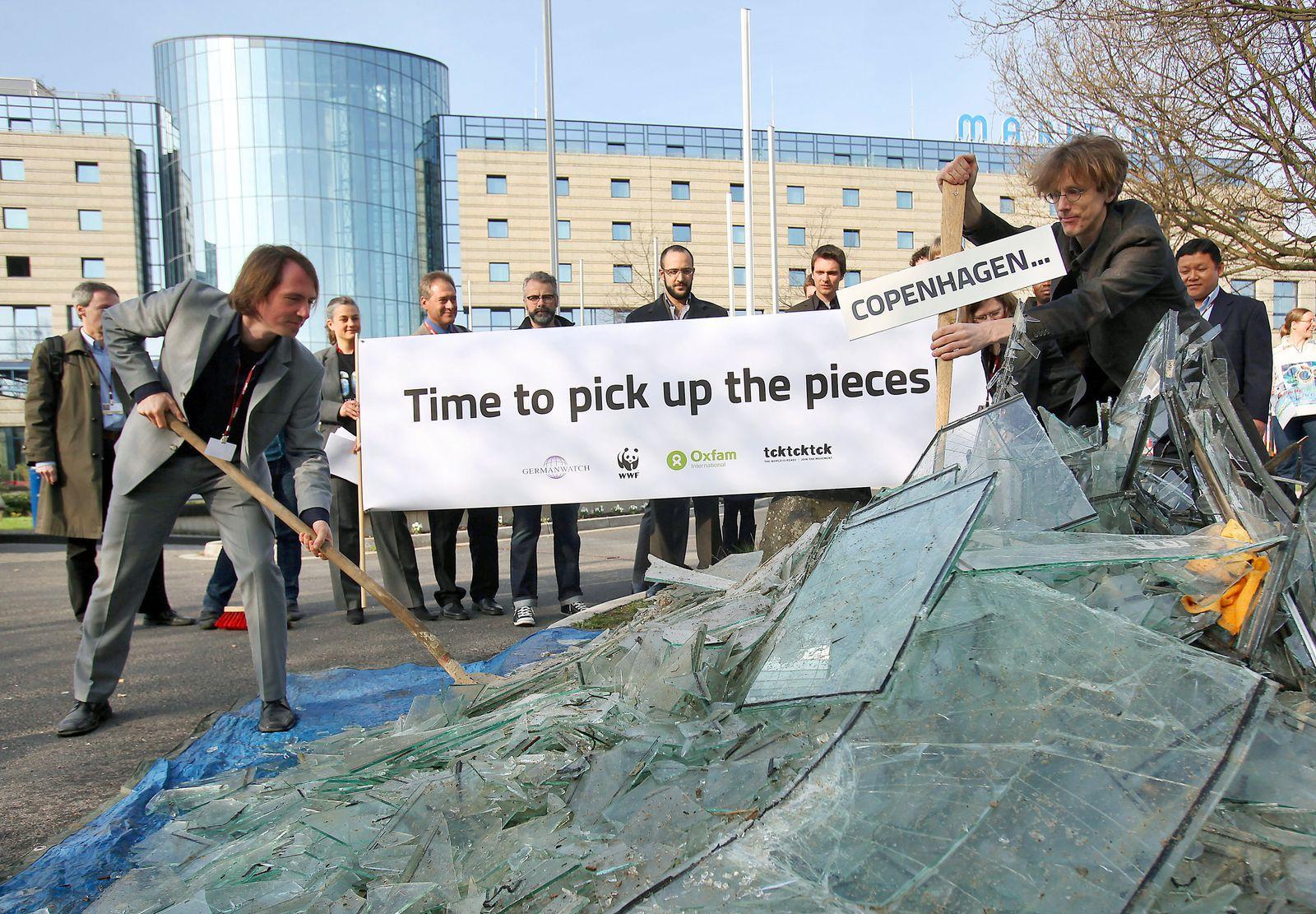 UN-Klimakonferenz Bonn - Proteste