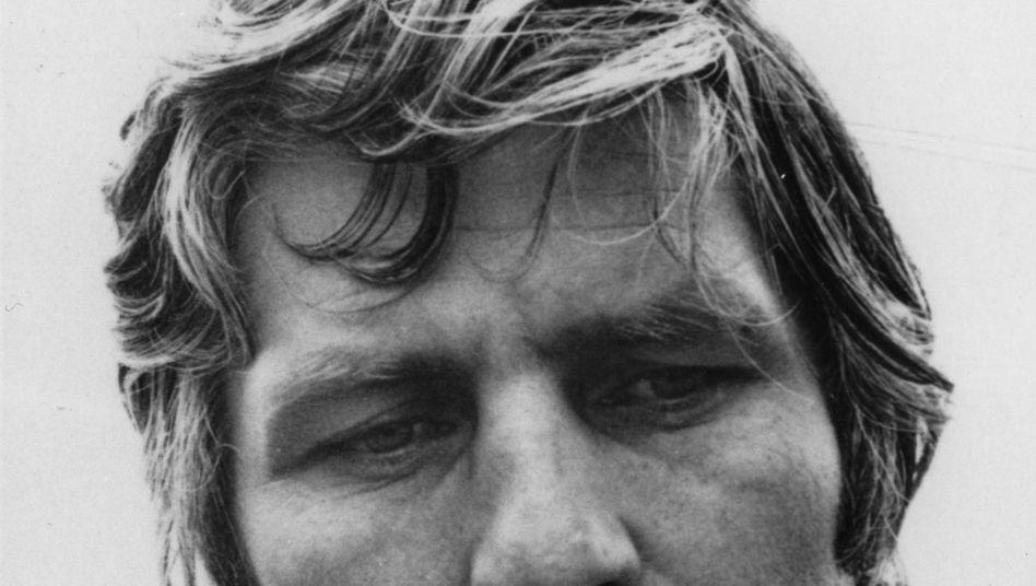 """Gunter Sachs 1985: Darf nicht beim """"Bild""""-Lesen gezeigt werden"""
