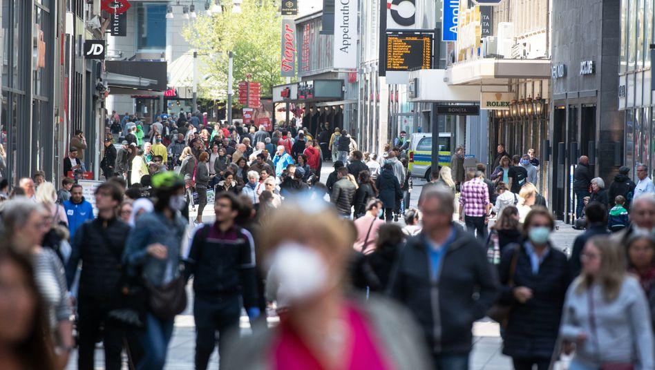 Fußgängerzone in Dortmund: Sorge um die Wirtschaftslage