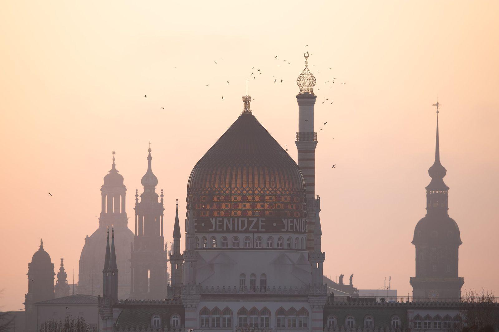 Sonnenaufgang Dresden