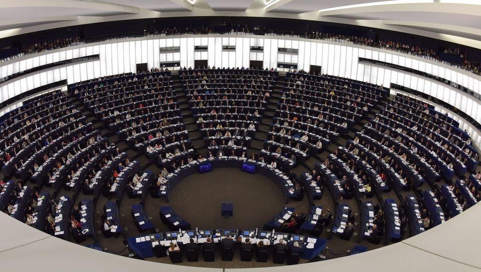 Europaparlament in Straßburg: Sollen Nebenjobs verboten werden?