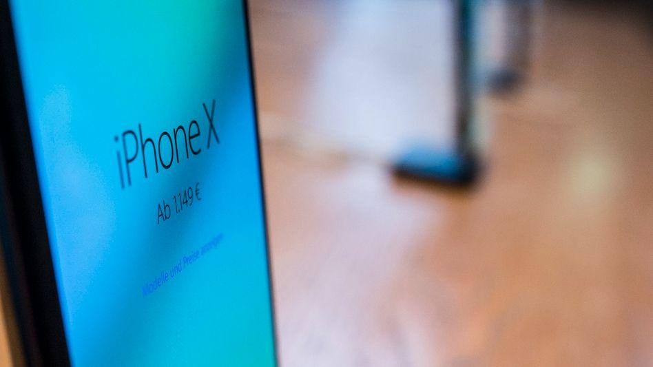 Auch iPhones sind den Angaben der Forscher zufolge angreifbar