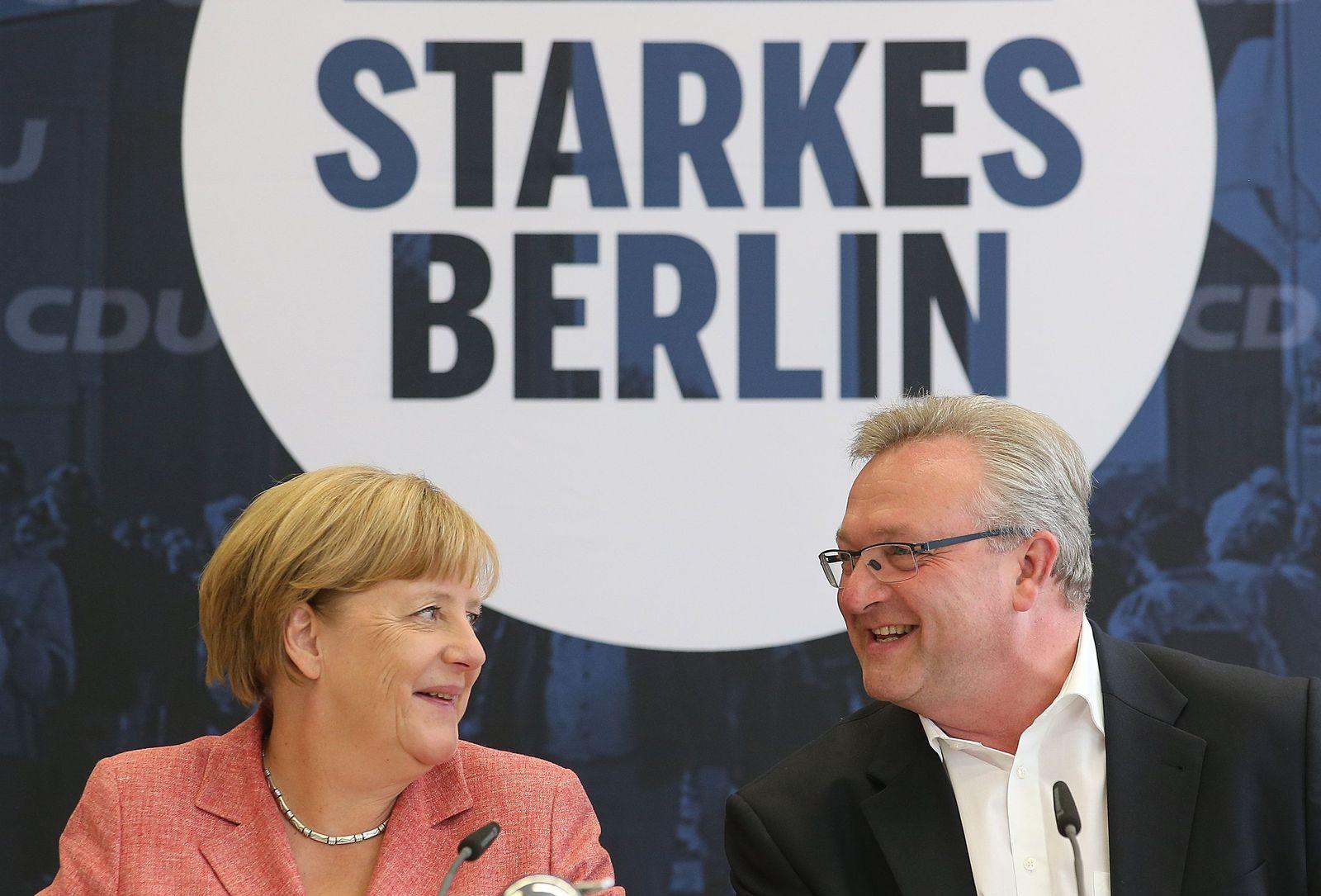 Wirtschaftstag der Berliner CDU mit Bundeskanzlerin Angela Merkel