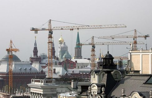 Cranes around the Kremlin: Russian recognition of South Ossetia could threaten its foreign investments.