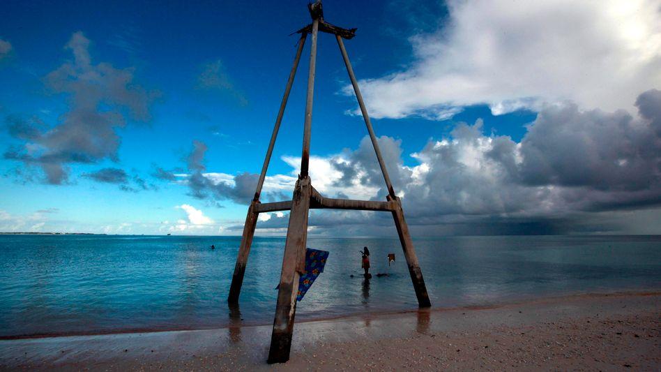 Pazifikinsel Süd-Tarawa: Ozeane speichern Wärme