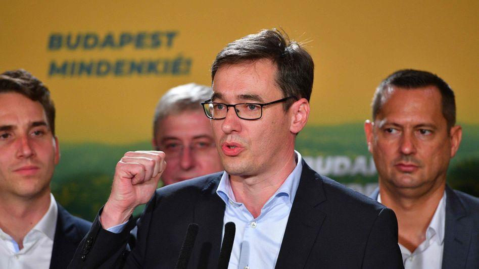 Will ein liberales Ungarn: Budapester Oberbürgermeister Karácsony