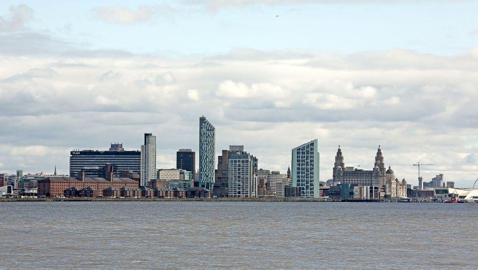 Skyline von Liverpool