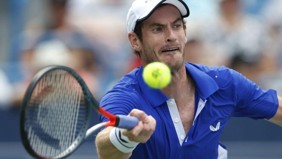 Andy Murray spielt wieder Einzel