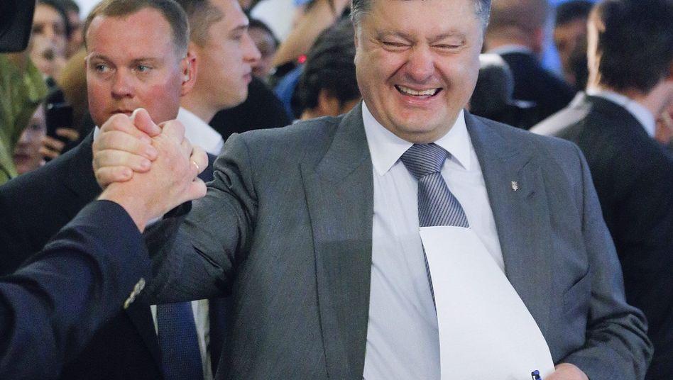 Absolute Mehrheit: Milliardär Poroschenko gewinnt Wahl in der Ukraine