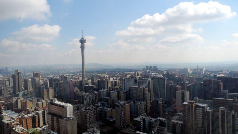 Ausblick auf Johannesburg