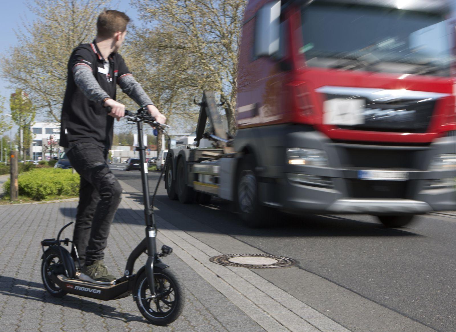 EINMALIGE VERWENDUNG E-Roller/ E-Scooter/ Elektro