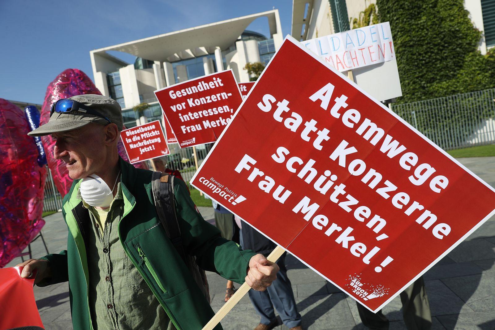 Proteste Dieselaffäre