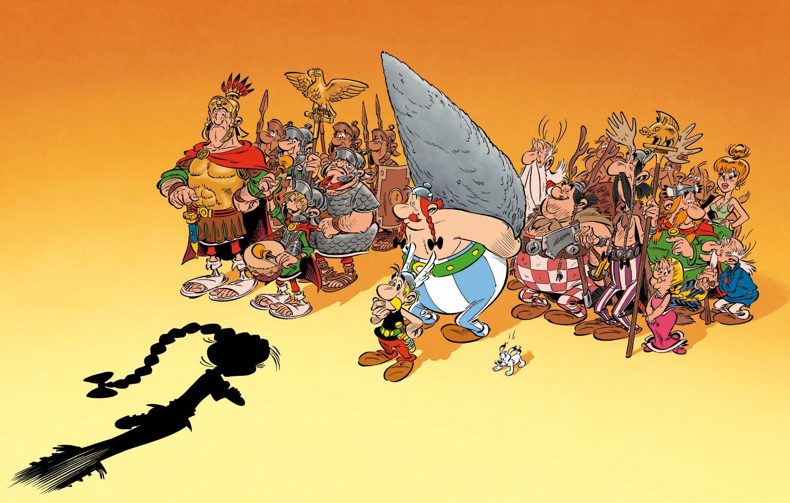 EINMALIGE VERWENDUNG Comic/ Asterix: Die Tochter des Vercingetorix Bd. 38