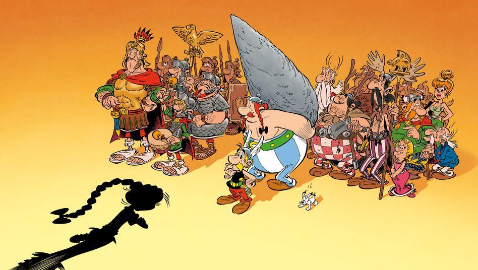 """Szene aus """"Asterix: Die Tochter des Vercingetorix"""""""