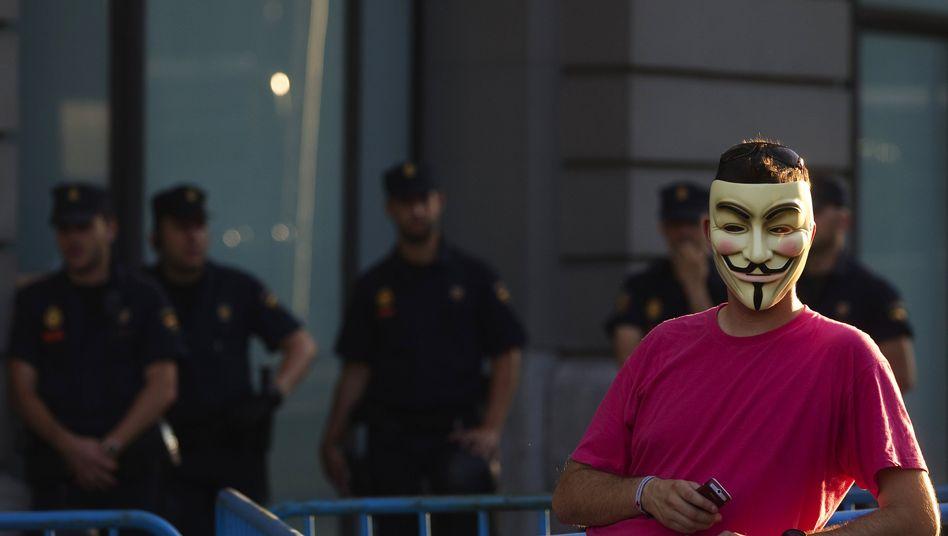"""Anonymous-Aktivist: """"Wir müssen zeigen, dass wir zum Handeln entschlossen sind."""""""