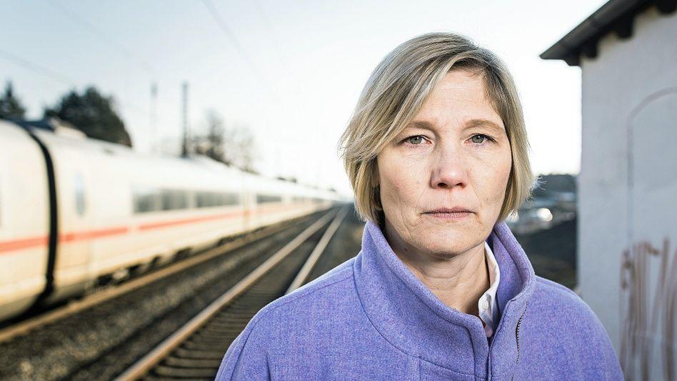 Aktivistin Wagner: Jahrelang auf einen Bautrupp der Bahn gewartet