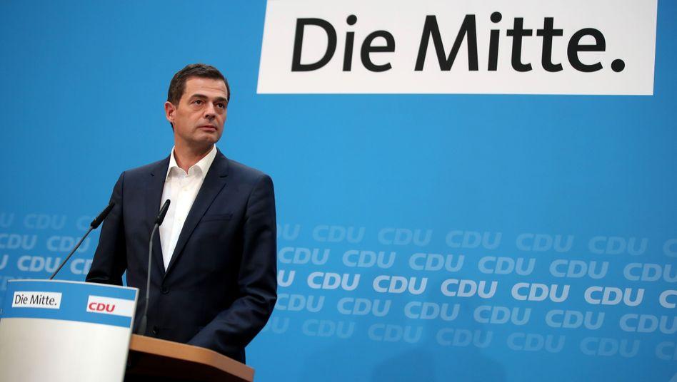 """Mike Mohring: """"Es geht offensichtlich in Thüringen nur noch mit einer Minderheitsregierung weiter"""""""