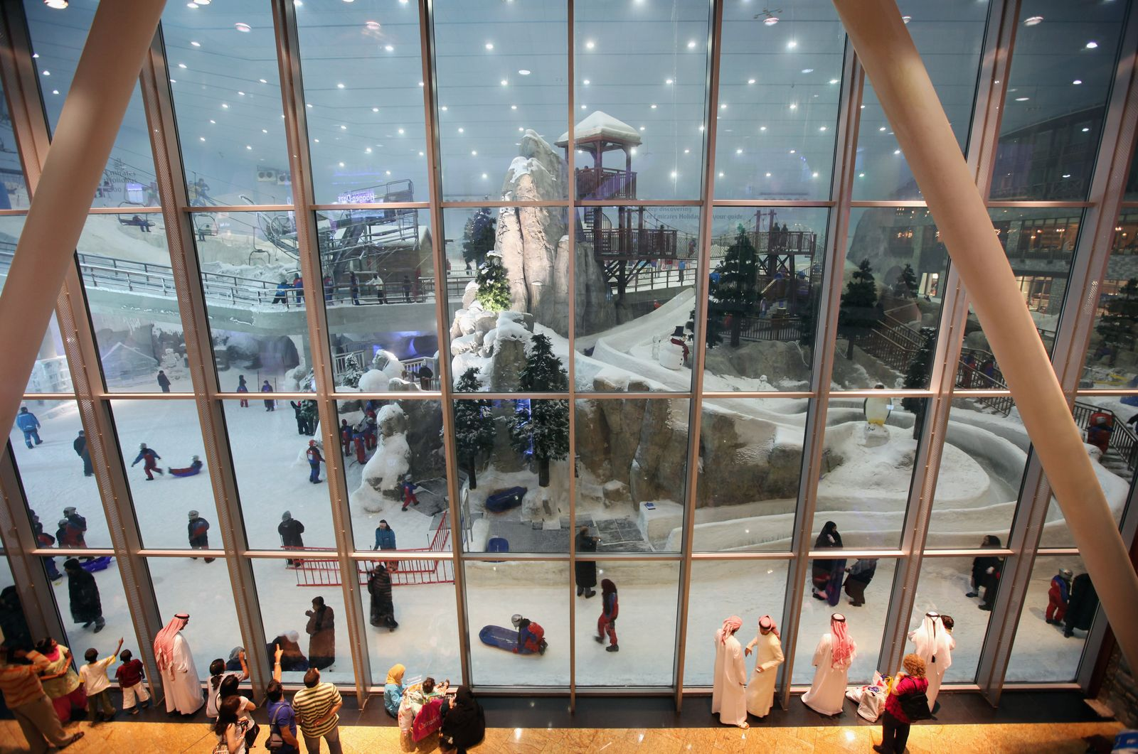 Skihalle - Ski Dubai
