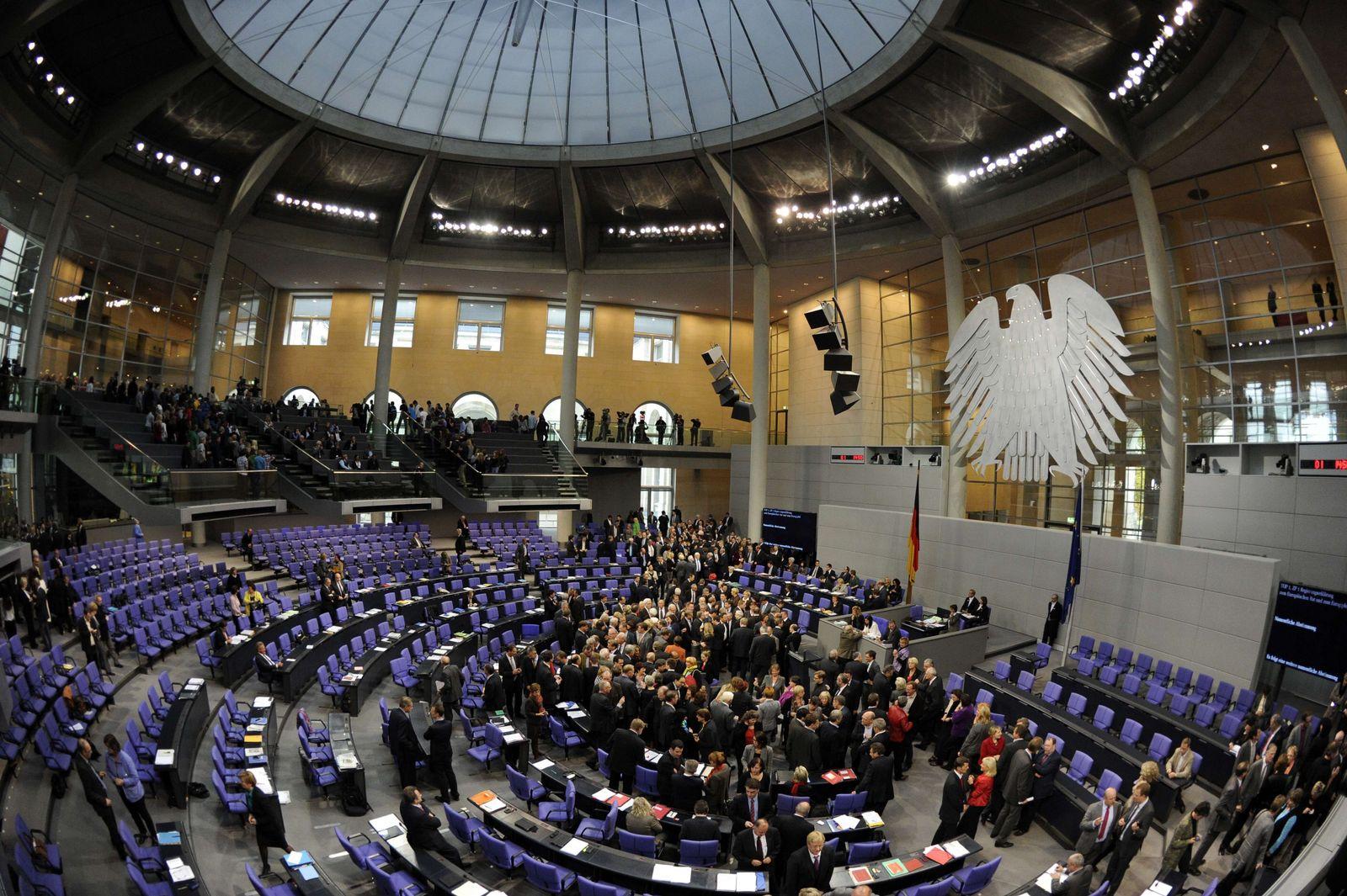 Bundestag / Abstimmung