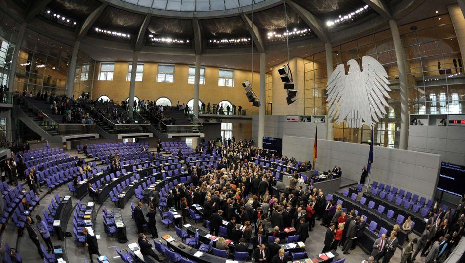 Abstimmung im Bundestag: Plenum statt Geheimgremium?