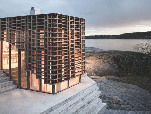Ferienpalast in Norwegen