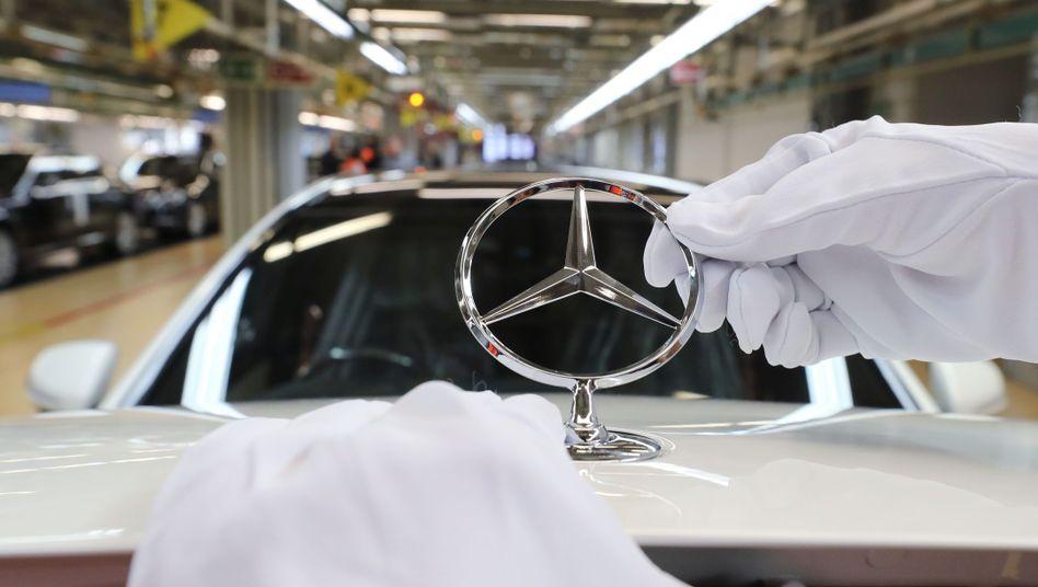 Daimler-Werk in Sindelfingen: Aufwendungen für laufende behördliche und gerichtliche Verfahren