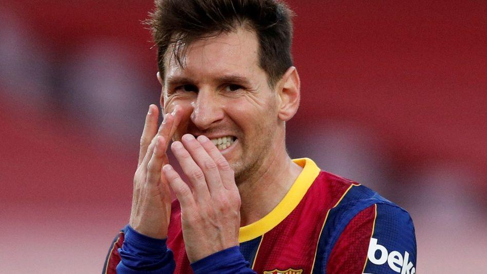 Lionel Messi steht vor einer schwierigen Entscheidung