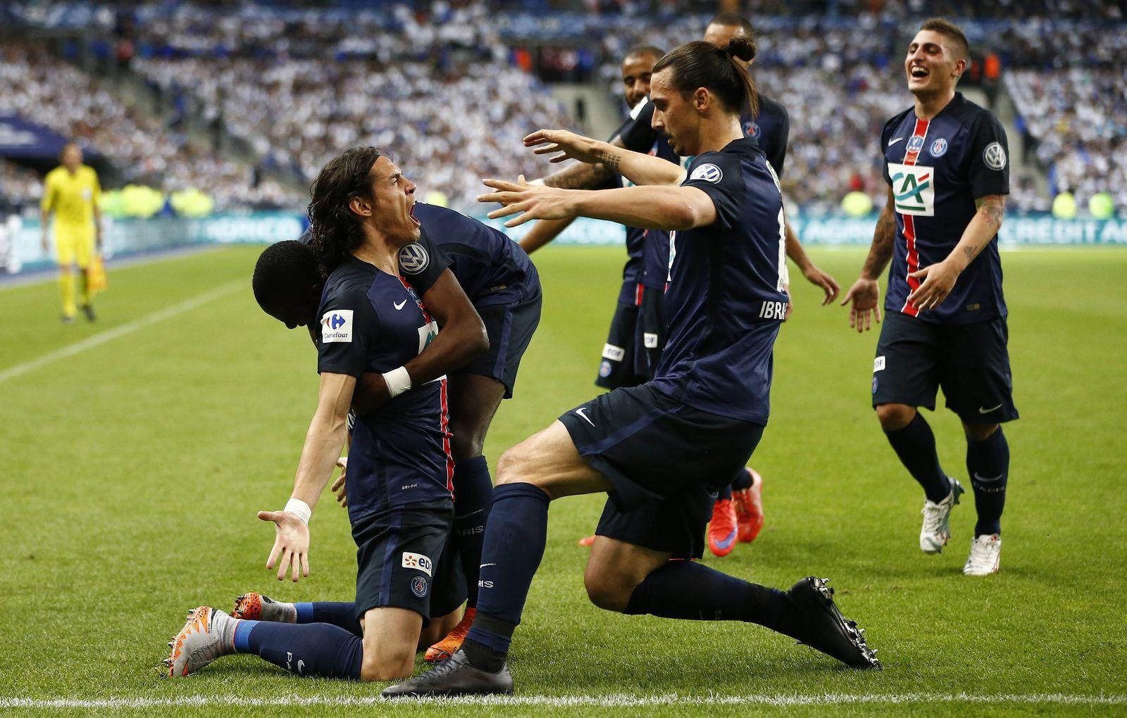 Paris St. Germain Cavani Zlatan