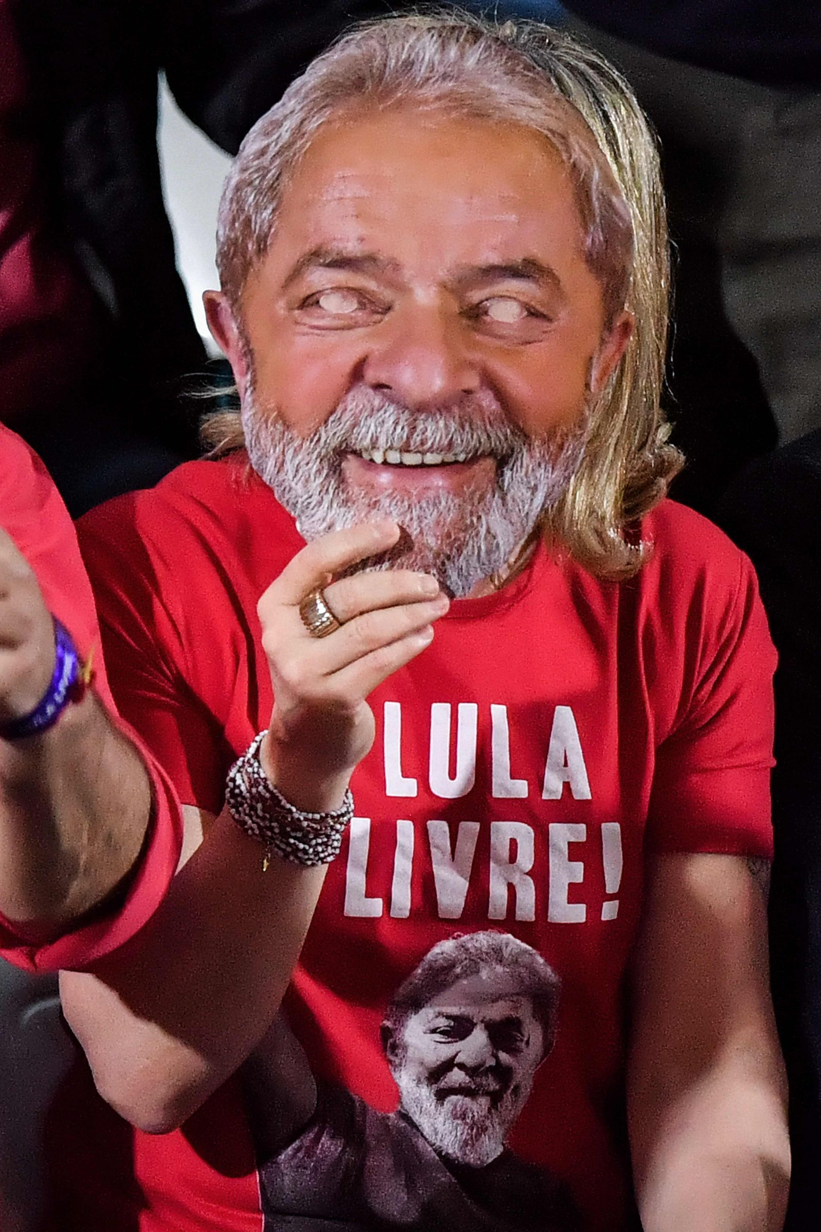 BRAZIL-ELECTION-CANDIDATE-LULA