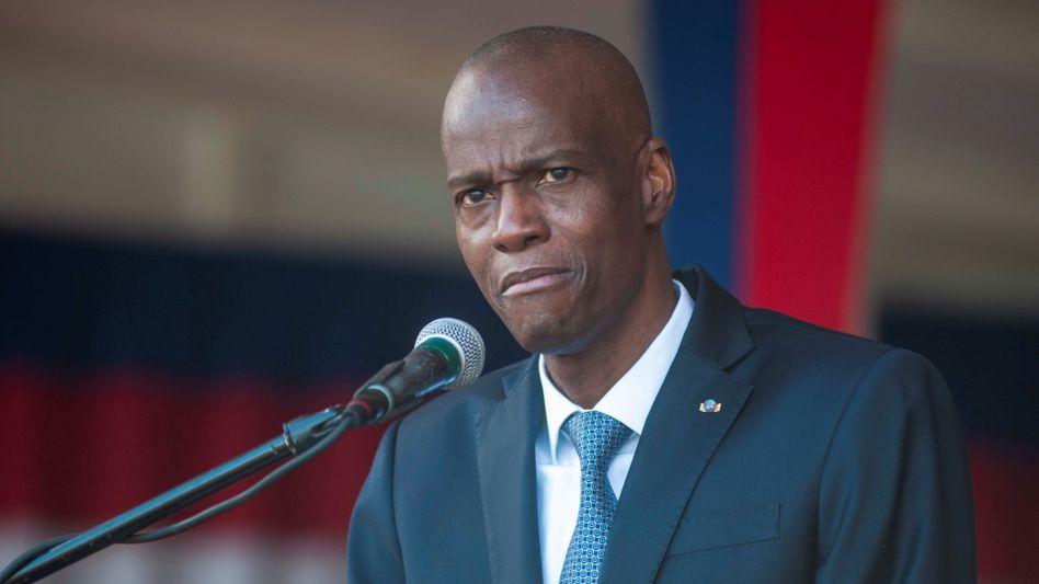 Haitis getöteter Präsident Jovenel Moïse (Archivbild)
