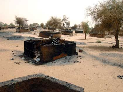 The Darfur region was hit hard by ethnic slaughter in 2004.