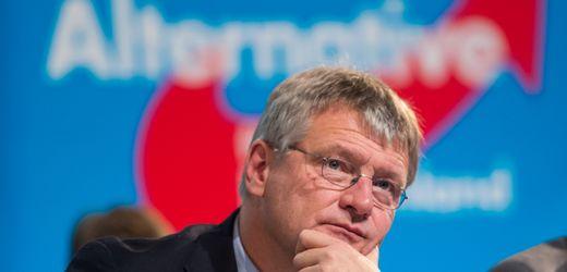 Jörg Meuthen und AfD: Angst vor dem Verdachtsfall