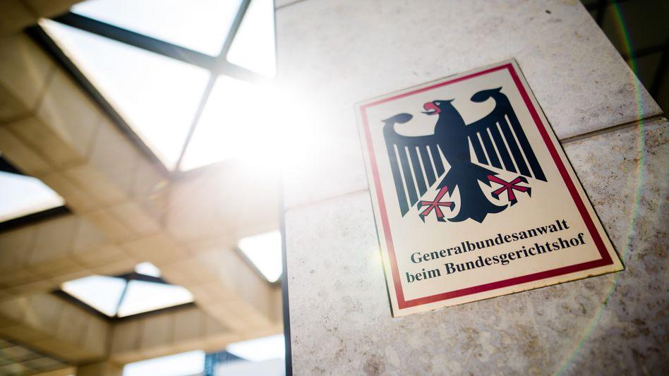Bundesanwaltschaft in Karlsruhe: Auch die Wohnung des Verdächtigen wurde durchsucht