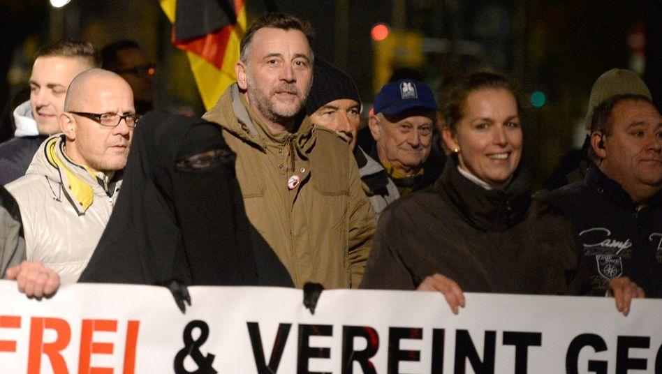 Pegida-Mitbegründer Lutz Bachmann (M.): Maas verzichtet auf Anzeige