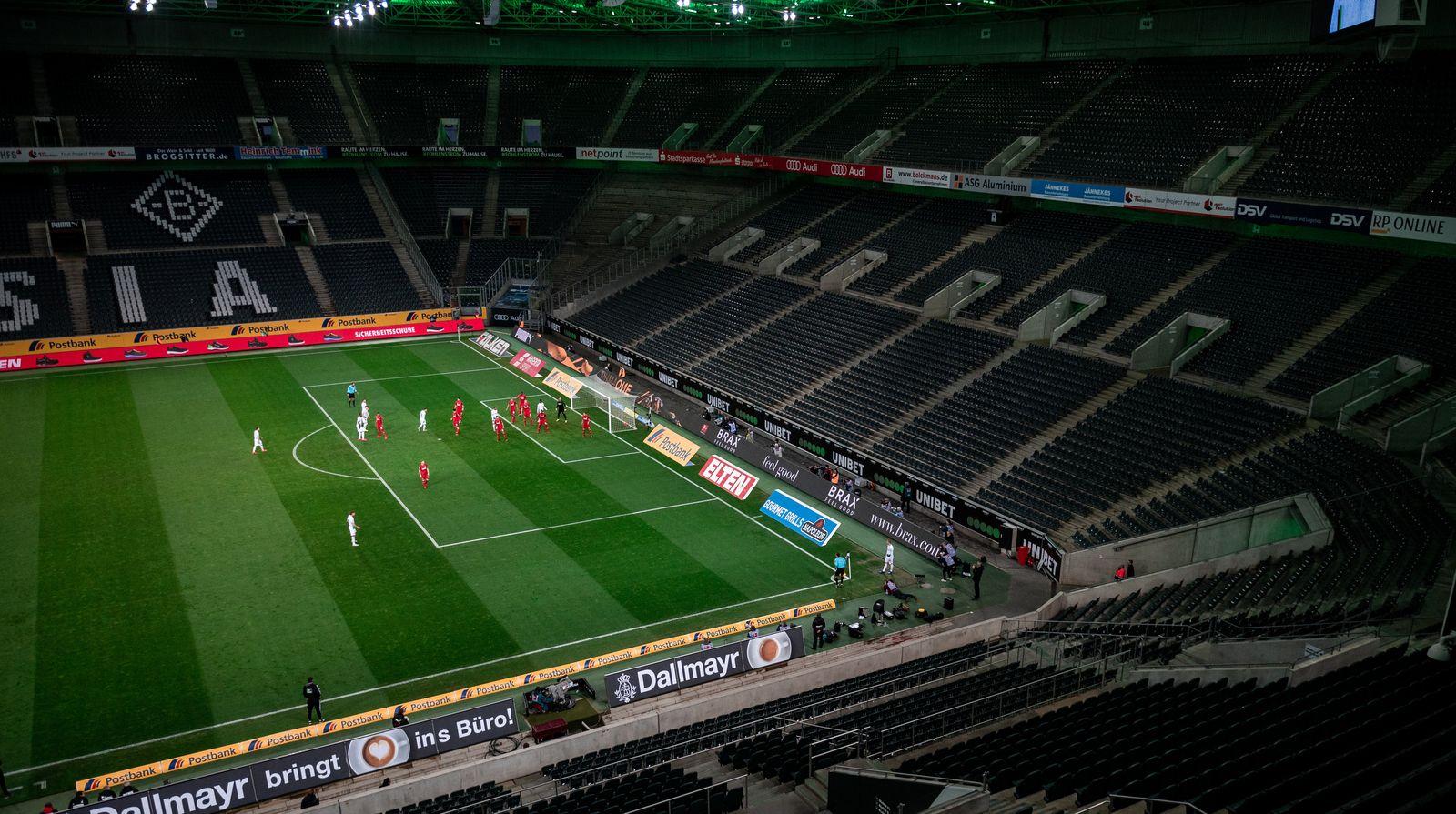 Bundesliga-Geisterspiele ab 9. Mai denkbar