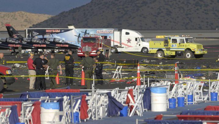 Nevada: Tödlicher Absturz bei Flugschau