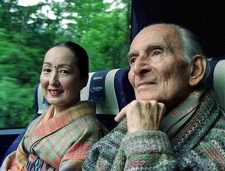 Balthus lebte die letzten Jahre zusammen mit seiner zweiten Frau Setsuko Klossowski in der Schweiz.