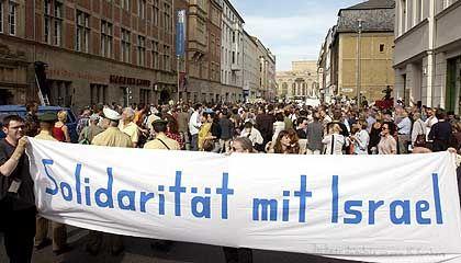 Anti-FDP-Demonstranten in Berlin